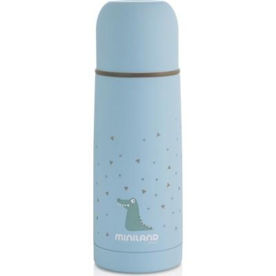 Miniland Silky Thermos Θερμός Υγρών 350ml Blue ML89216