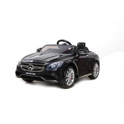 Ηλεκτροκίνητο Αυτοκίνητο Mercedes Benz AMG S63 12V Official Licensed Μαύρο