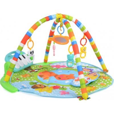 Moni Play Mat Baby piano Γυμναστήριο - Χαλάκι Δραστηριοτήτων Boy 696-R5