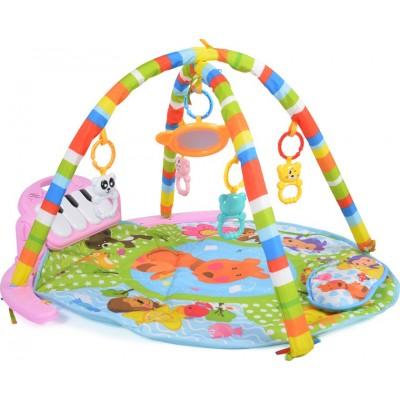 Moni Play Mat Baby piano Γυμναστήριο - Χαλάκι Δραστηριοτήτων Girl 696-R6