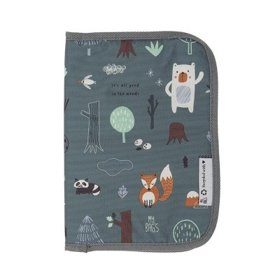 My Bag's Θήκη Βιβλιαρίου Υγείας Forest PGFSTVER