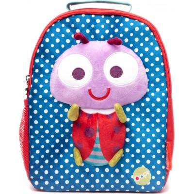 Oops Παιδική Τσάντα Πλάτης Super Soft BackPack Ladybug 30018-33
