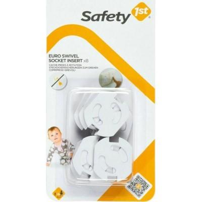 Safety1st Ασφάλεια Πρίζας Περιστρεφόμενη 8τμχ U01-39051-00