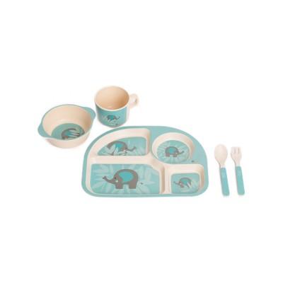 Bo Jungle Παιδικό Σερβίτσιο Φαγητού Ελέφαντας B-Corn Dinner Set Unicorn Elephant B555020