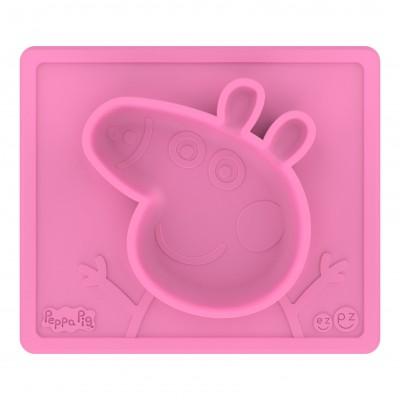 Ezpz Δίσκος και Πιάτο 2 σε 1 Peppa Pig™ Mat