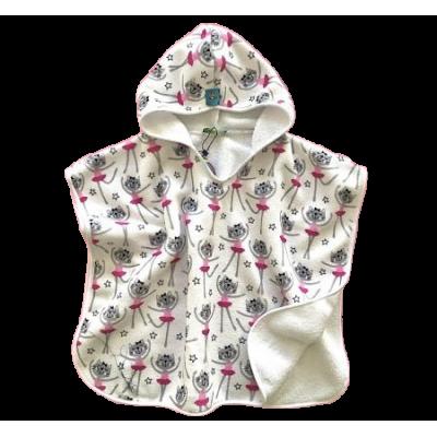 Tortue Παιδική Πετσέτα Πόντσο Θαλάσσης White Kitty S1-061-050