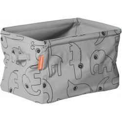 Done by Deer Μαλακό Κουτί Αποθήκευσης Διπλής Όψης Grey BR72014
