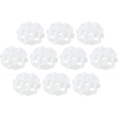 Προστατευτικά Καπάκια Πρίζας Σετ 10 Τμχ Διάφανα Hartig+Helling