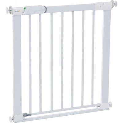 Safety 1st Πόρτα ασφαλείας Flat step Λευκή U01-24434-00