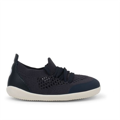 Bobux Step up Xplorer Play Knit Trainer Δερμάτινο Ανατομικό βρεφικό Παπούτσι Navy