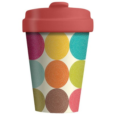 Chic - Mic Κούπα από Μπαμπού Bamboo Cup Bright Circles BCP214
