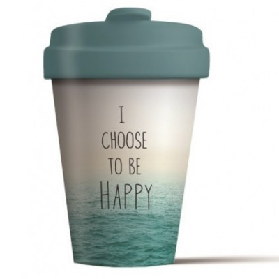 Chic - Mic Κούπα από Μπαμπού Bamboo Cup Choose Happy BCP250