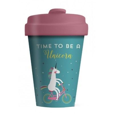 Chic - Mic Κούπα από Μπαμπού Bamboo Cup Time for Unicorns BCP205