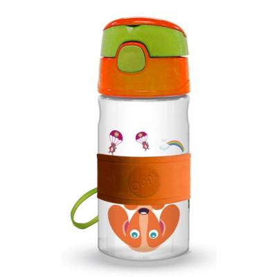 Oops Παιδικό Μπουκάλι Tritan Με Καλαμάκι City 400ml 41004-20