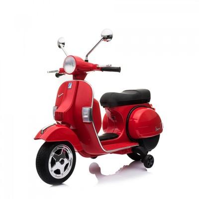 Zita Toys Ηλεκτροκίνητη Παιδική Vespa Licenced Piaggio Vintage 12V 3-7 Ετών Κόκκινη 017.728R