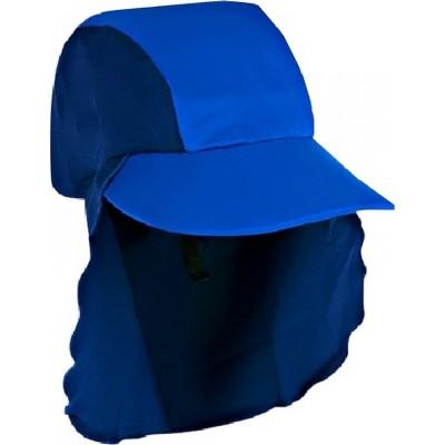 Jakabel Καπέλο με κάλυψη στο σβέρκο και τα αυτιά με UVP50+ Μπλε 0-18 μηνών