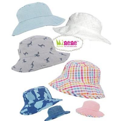 Minene Καλοκαιρινά Καπέλα 2 Όψεων 0-24m