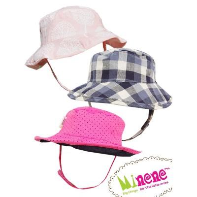 Minene Καλοκαιρινά Καπέλα με κορδόνι 0-24m