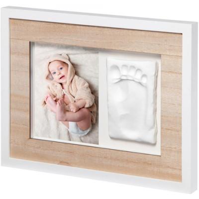 BabyArt Kορνίζα με Αποτύπωμα Tiny Style Wooden