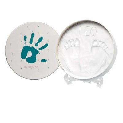 BabyArt Kουτί με Αποτύπωμα Magic Box Round Essentials