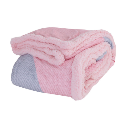 Nef Nef Κουβέρτα Fleece Αγκαλιάς 75x110cm Moon And Back Pink
