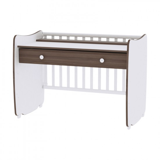 Lorelli Bertoni Μετατρεπόμενο Βρεφικό Κρεβάτι Dream New 60x120 White - Artwood