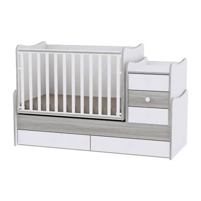 Lorelli Bertoni Maxi Plus New Μετατρεπόμενο Πολυμορφικό Κρεβάτι White - Artwood 10150300030А