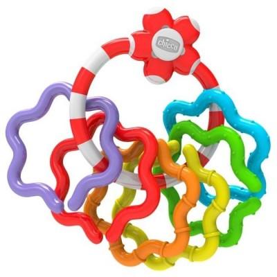 Chicco Easy Grasp Ring Χρωματιστοί Δακτύλιοι 3-18m 05954-00