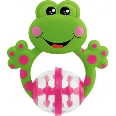 Chicco Frog Κουδουνίστρα Βατραχάκι