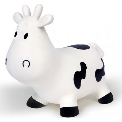 BS Toys Jumping Cow Χοπ Χοπ Αγελαδίτσα Λευκή GA126 2χρ+