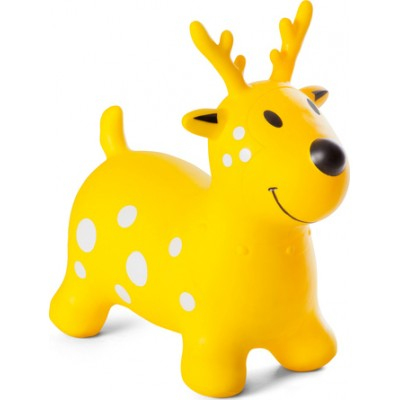 BS Toys Jumping Cow Χοπ Χοπ Τάρανδος Κίτρινος GA274 2χρ+