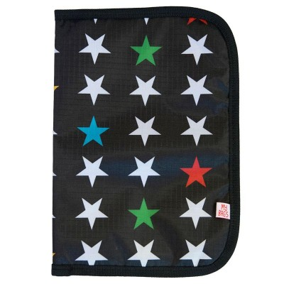 My Bag's Θήκη Βιβλιαρίου Υγείας My Stars Black PGSTABL