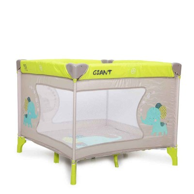 Cangaroo Τετράγωνο Παρκοκρέβατο Play Yard Giant Yellow 3800146246716