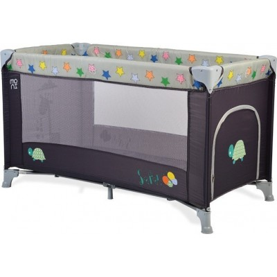 Cangaroo Παρκοκρέβατο Play Yard Safari Dark Grey 3800146247751