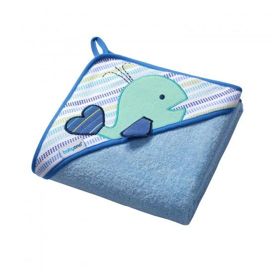 BabyOno Πετσέτα με Κουκούλα 100x100cm BN142