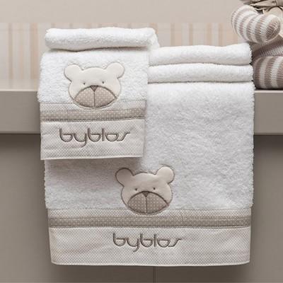 Βρεφικές Πετσέτες 2τμχ Byblos Des 81 Amici Beige