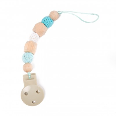 Bo Jungle Αλυσίδα Πιπίλας B-Pacifier Chain Blue B563100