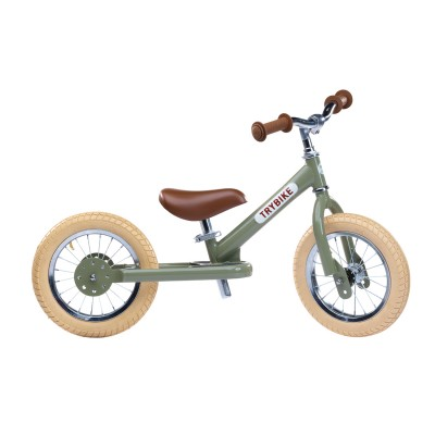 Trybike Ποδήλατο Ισορροπίας Vintage Πράσινο TBS-2-GRN-VIN