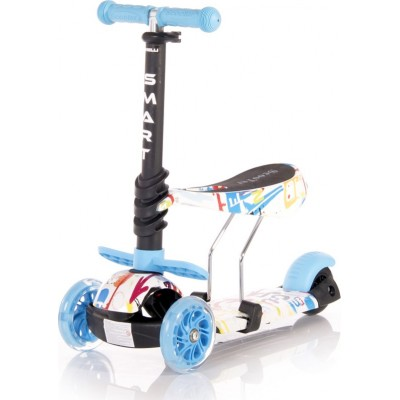 Lorelli Smart Πατίνι Scooter με Κάθισμα Tracery Blue 10390020003