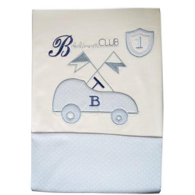 Βρεφική Κουβέρτα Αγκαλιάς Bebecor Number One Car 90x85