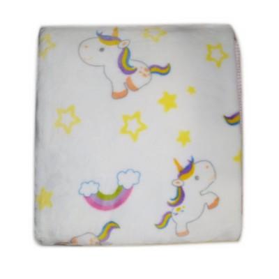 Βρεφική Κουβέρτα Βελουτέ Dolce Printed Mora 110x140 Des. F69/04  Ροζ