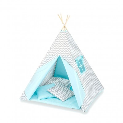 Tuttolina Παιδική Σκηνή Tepee Waves Turquoise T1