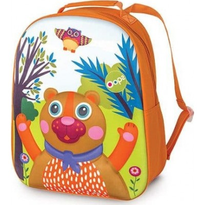 Oops Τσαντα Πλάτης Happy BackPack Αρκούδα X30-30004-11