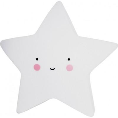 Mini Star Φωτάκι Νυχτός Λευκό A Little Lovely Company