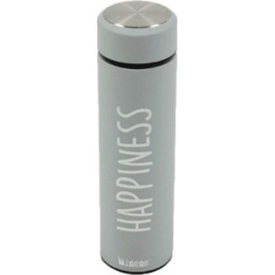 Minene Thermos Light Grey 500ml Happiness 18319001020OS