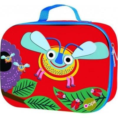 Oops Τσάντα Γεύματος Μαλακή Happy Snack Bee X30-31006-35