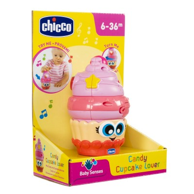 Chicco Βρεφικό Παιχνίδι Candy Cupcake 6-36 μηνών 09703