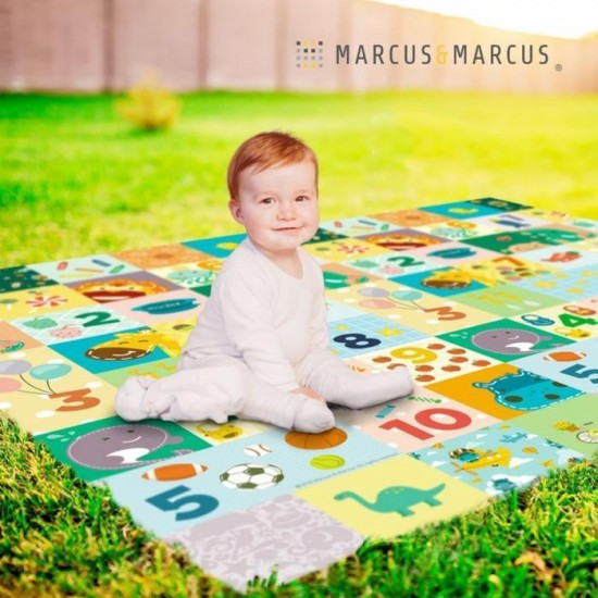 Marcus & Marcus Love to Counting Χαλάκι για Παιχνίδι 180x150cm Εσωτερική και Εξωτερική Χρήση ΜΝΜΒΒ35