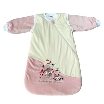 Tender Παιδικός Υπνόσακος Κλειστός Βελούδο Ροζ 2322
