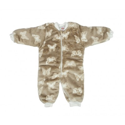 Tender Παιδικός Υπνόσακος Fleece 2.5 Tog με Πόδια Butterfly Καφέ 2410
